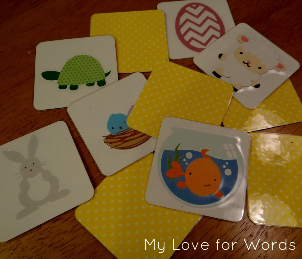 My Love for Words: DIY Memory Cards