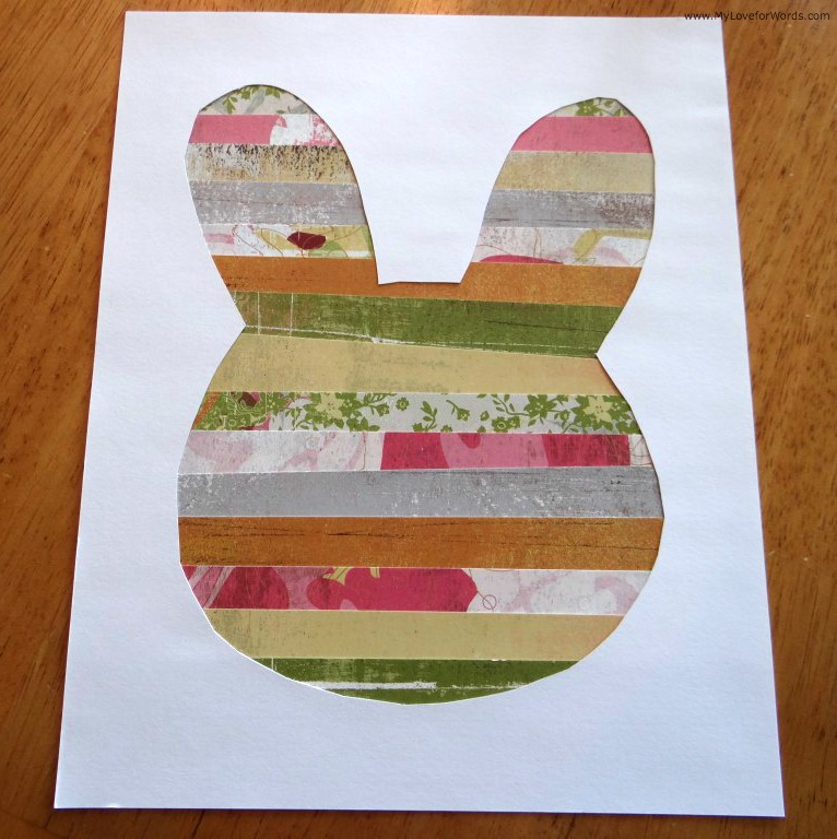 Easy Easter Bunny Art