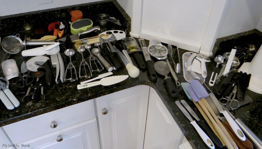Utensil drawer sorting