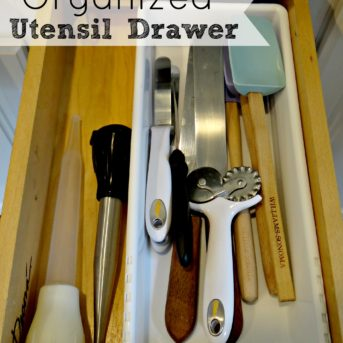 Organized Utensil Drawer