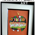Super simple Halloween art project. Great for kids!