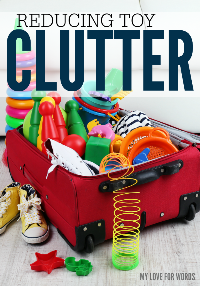 Reducing Clutter reducing toy clutter