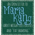 open letter to maria kang