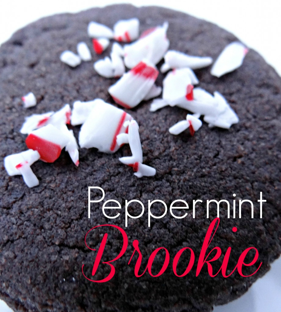 Peppermint Brookie