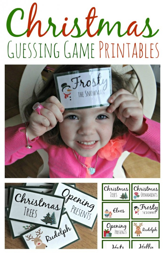 Guessing game printables christmas guessing game printables solutioingenieria Images