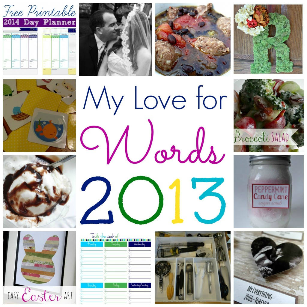 My Love for Words 2013