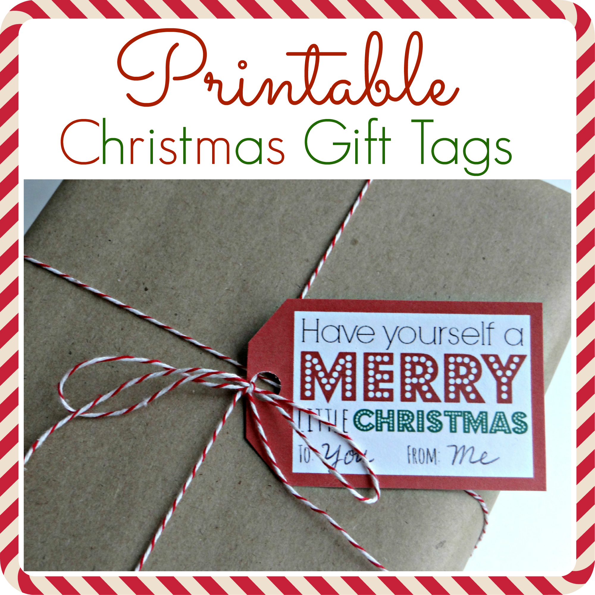 photo regarding Free Printable Gift Tags Personalized called Printable Xmas Present Tags