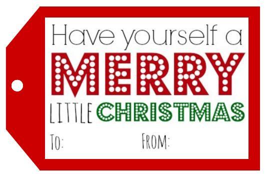 Printable Christmas Tags.Printable Christmas Gift Tags