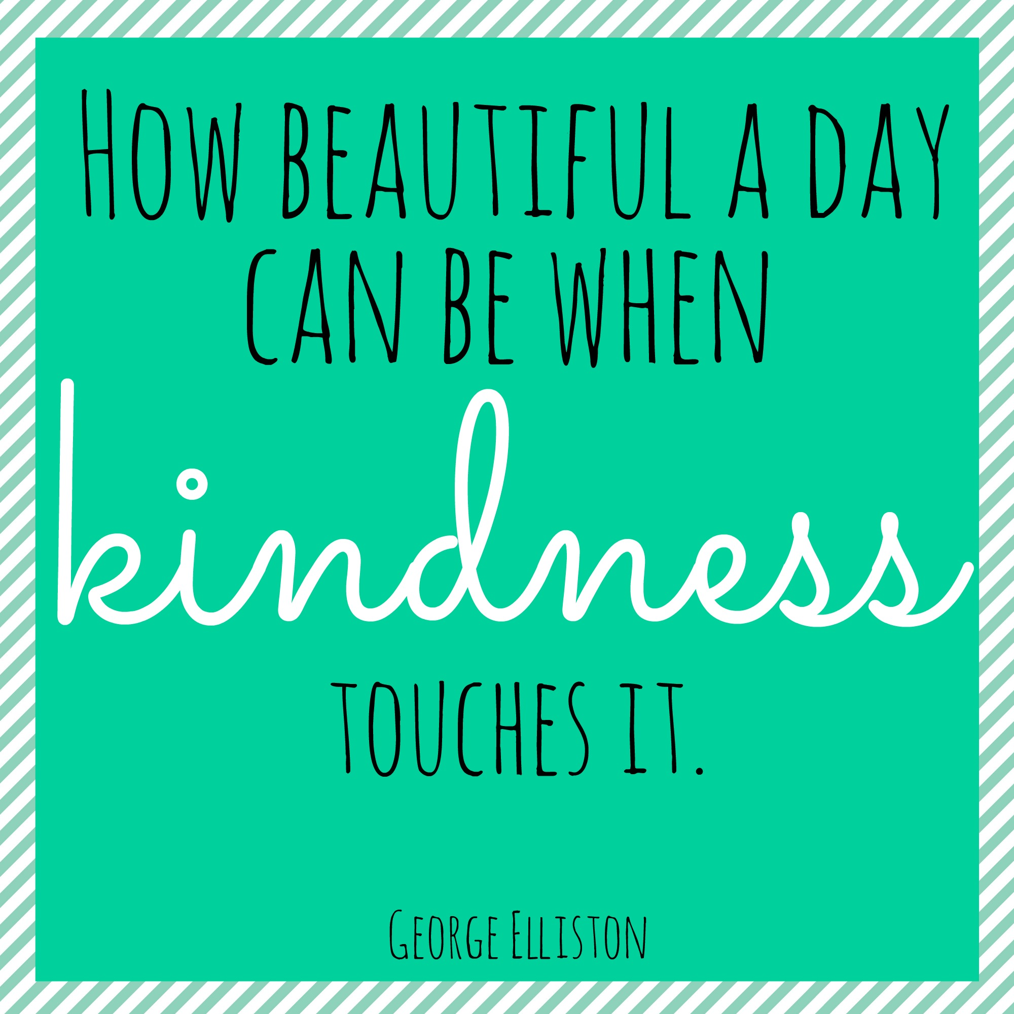 100 Days of Kindness Ideas 21-40