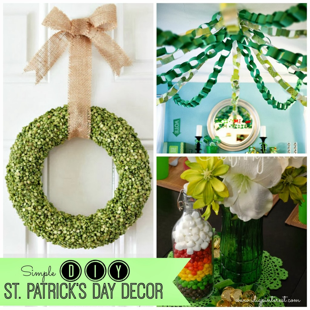 13 Easy St. Patrick's Day Decor Ideas