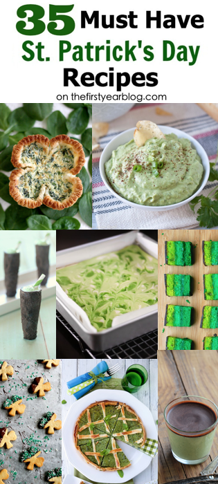 35 Must Have St. Patrick's Day Recipes