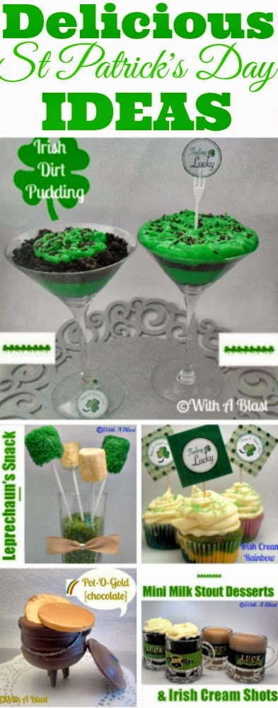5 Delicious St Patrick's Day Ideas