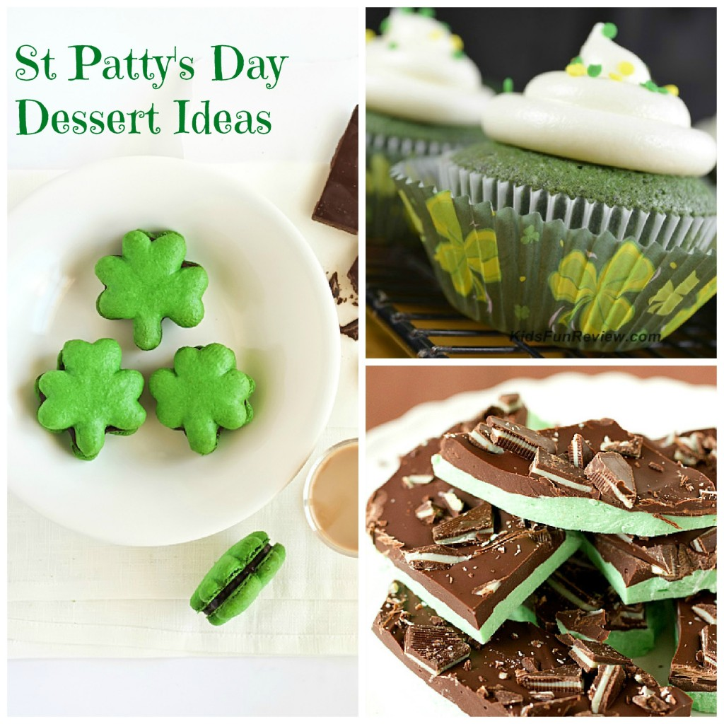 10 St. Patty's Day Dessert Ideas