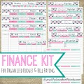 Financial Organizer from My Love for Words