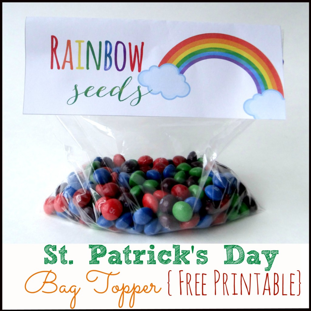 Free Printable: Rainbow Seeds from My Love for Words