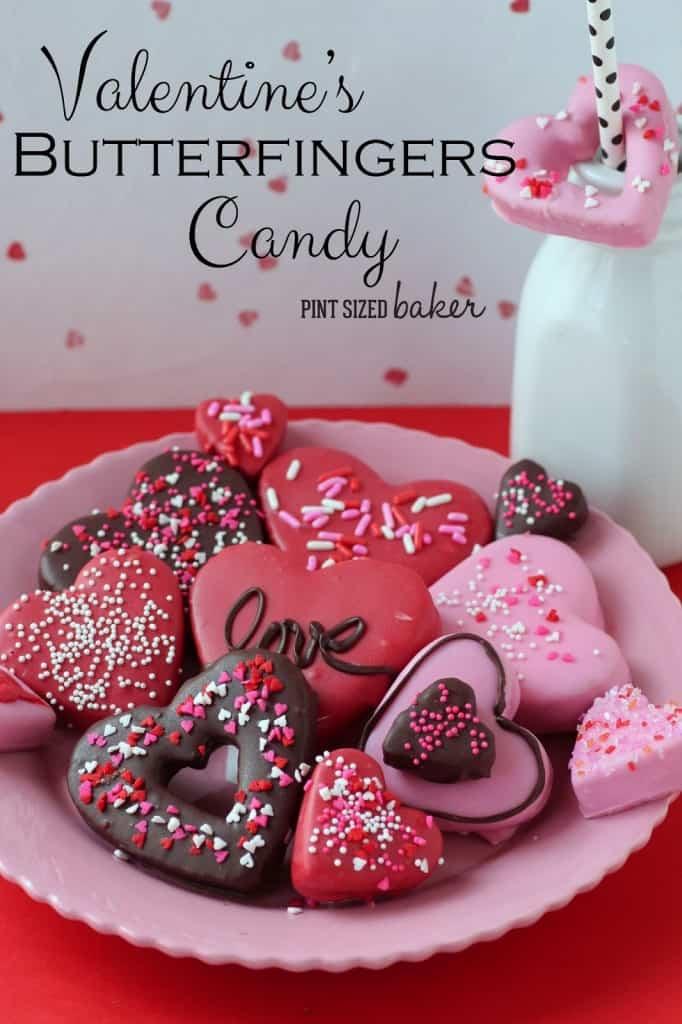 Valentine Butterfinger Candy