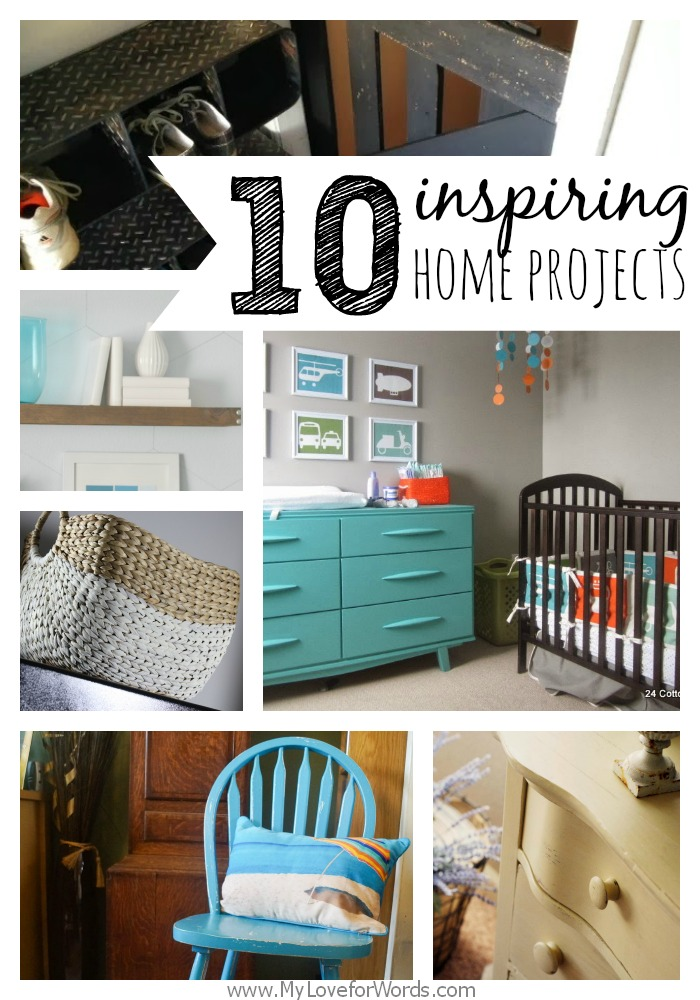 10 inspiring home projects from My Love for Words