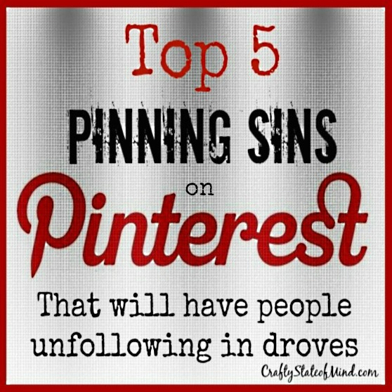 Top 5 Pinning Sins