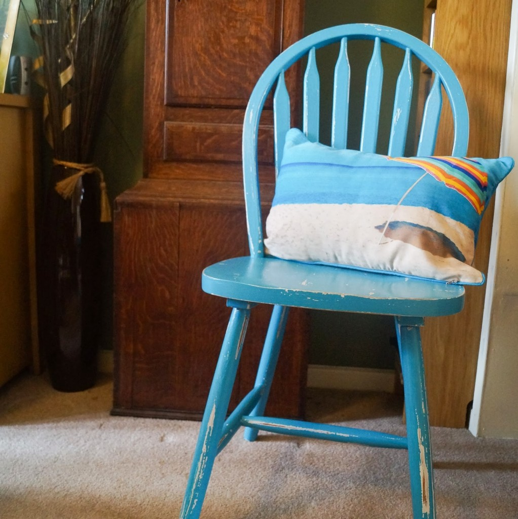 DIY Painted Chair