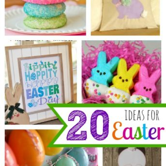 20 ideas for Easter at My Love for Words