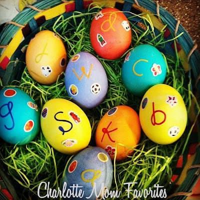 3.23.2014 Monogrammed Eggs