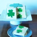 Surprise Inside Shamrock Cake