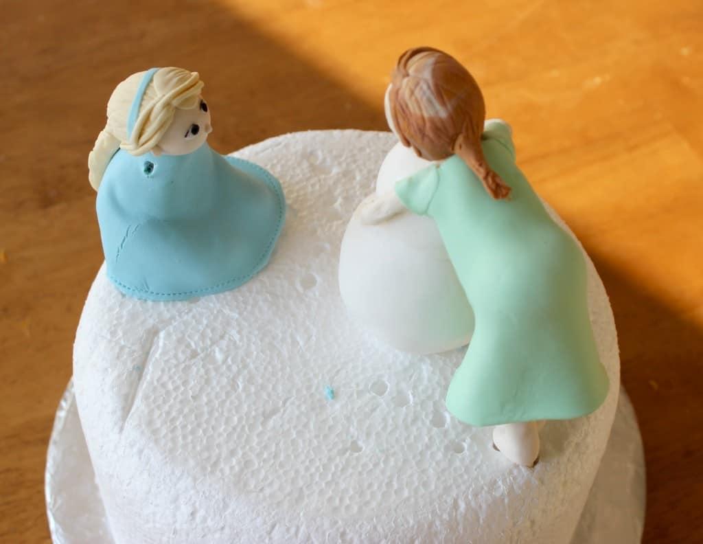 Gum Paste Frozen Figures