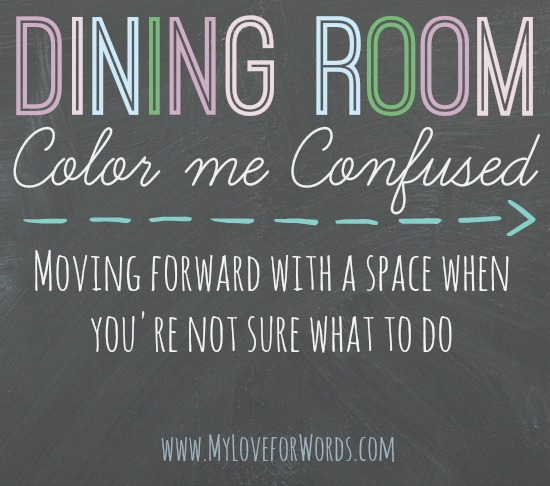 Dining Room: Color Me Confused