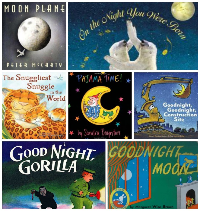 Favorite Bedtime Books for Kids