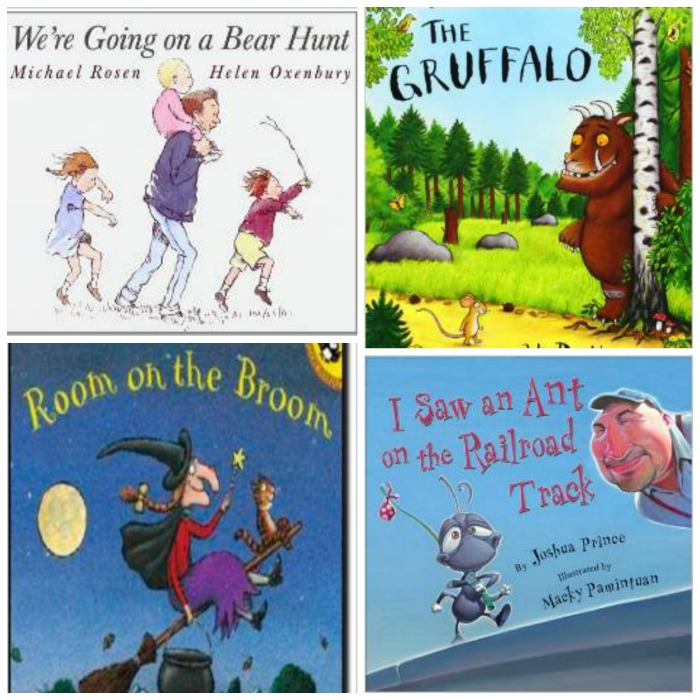 Favorite Rhyming and Rhythm Books