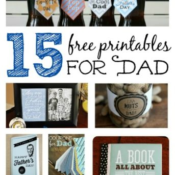 15 Free Printables for Dad