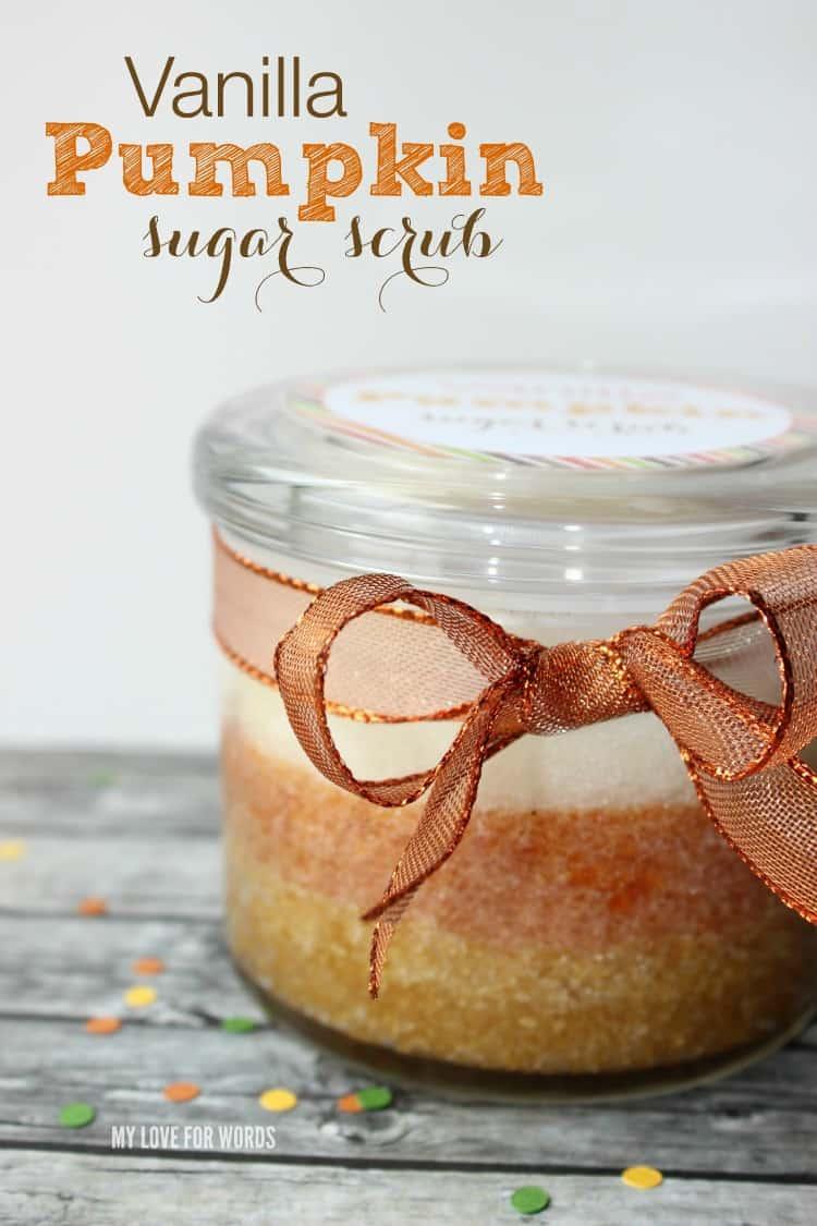 DIY Vanilla Pumpkin Sugar Scrub Recipe
