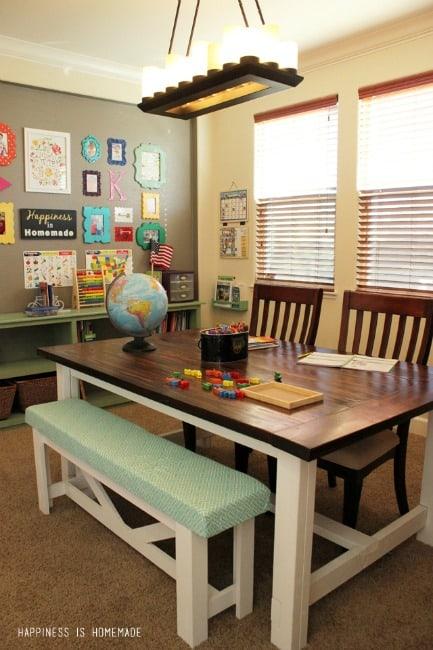 Inspiring Homeschool Rooms