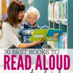 Nothing beats sharing a good book with a little one curled up in your lap, and these books are some of the best. From stories about animals, to those that teach a great lesson, these are the 30 Best Books to Read Aloud to Kids. They'd also make a great DIY baby shower gift for a sweet little baby girl or baby boy.