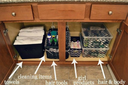 Creative Ideas for an Organized Bathroom