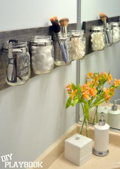 Creative Ideas for an Organized Bathroom