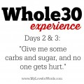 Whole-30-experience