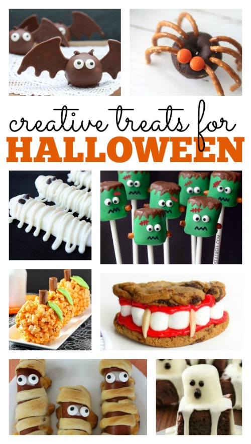 creative treats for halloween