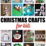 Christmas Crafts for Kids. More than 20 crafts and activities for the Holidays.