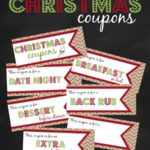 20+ Free printable Christmas coupons