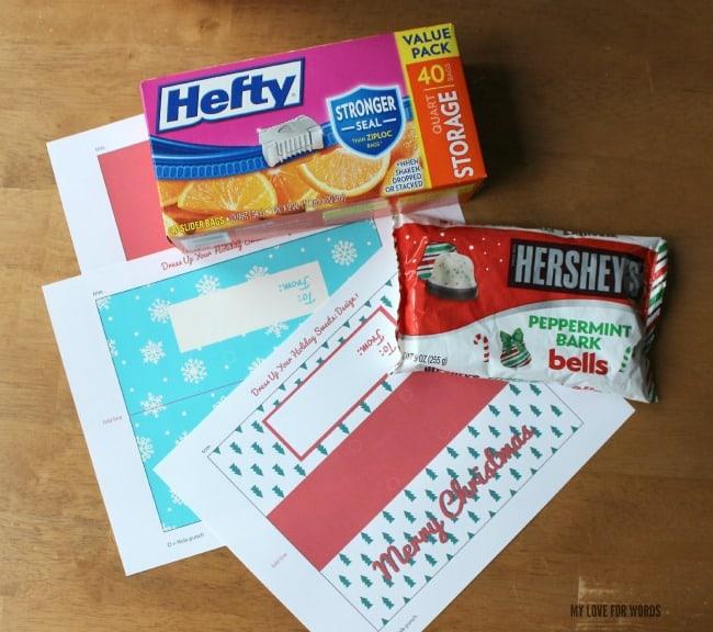 Free printable christmas bag toppers