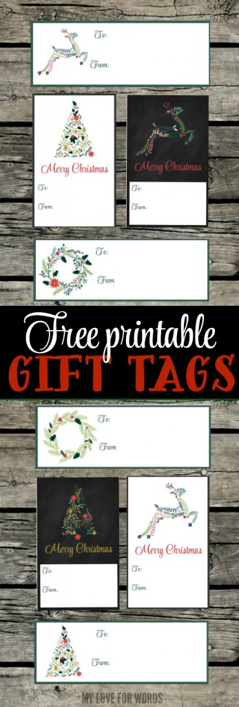 printable christmas gift tags vertical image