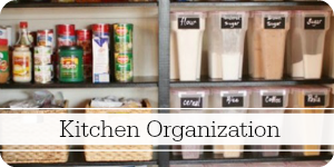 Ideas for an organized kitchen