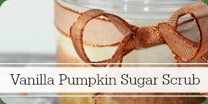 vanilla pumpkin sugar scrub