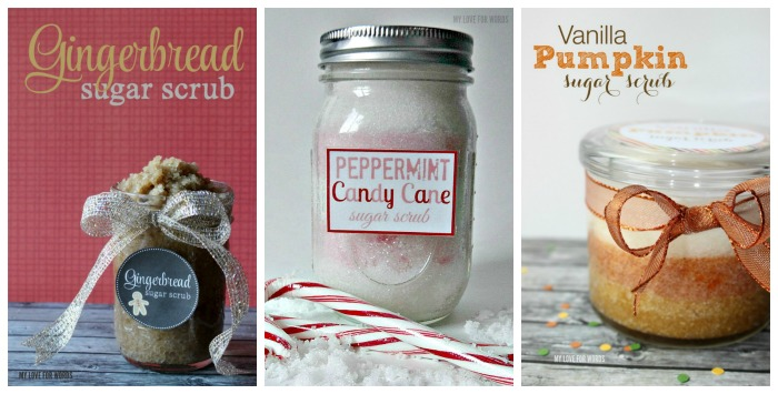 Sugar scrubs from My Love for Words