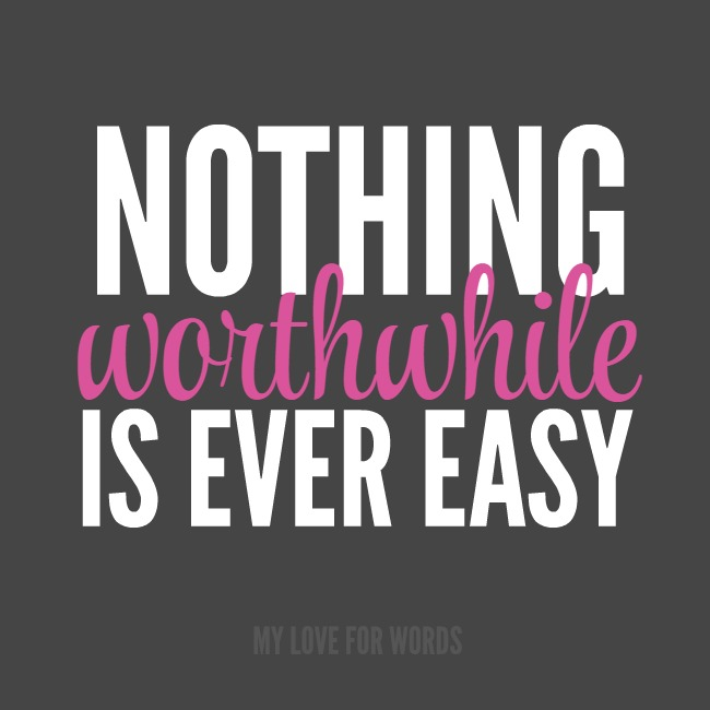 Declutterathon Nothing worthwhile is ever easy