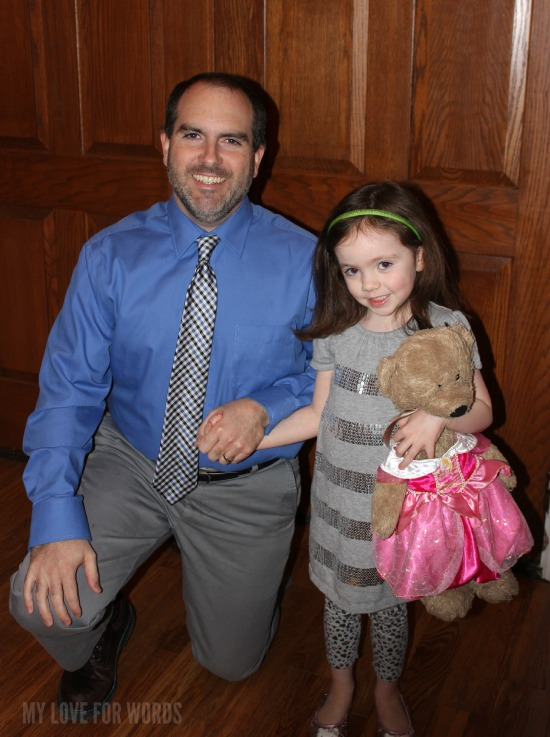 Brendan and Grace father daughter dance 1