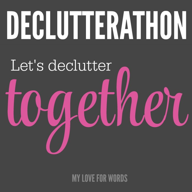 Declutter isn't easy, but it doesn't have to be lonely too. Let's do it together, right now. Let's support one another so we can finally create the lives we really want.