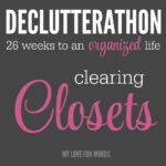 Are your closets stuffed with items you no longer wear or use? Let's clear the clothing graveyard and create an organized and functional space that will leave you excited to get dressed!