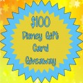 $100 Disney Gift Card Giveaway